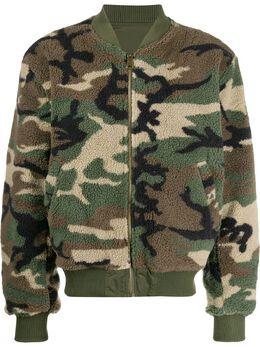Alpha Industries куртка с камуфляжным принтом 198106