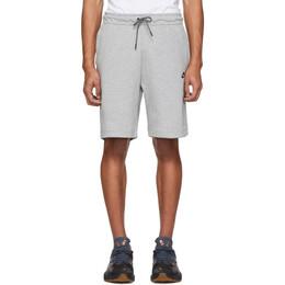 Nike Grey Tech Fleece Sportswear Shorts 928513