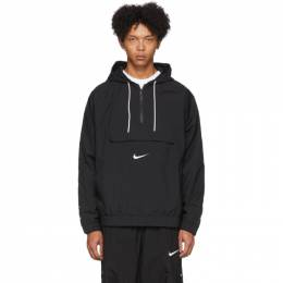 Nike Black Swoosh Pullover Jacket CD0419