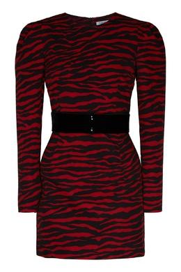 Платье мини с анималистичным принтом P.a.r.o.s.h. 393166123