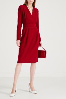 Платье ярко-алого цвета с поясом P.a.r.o.s.h. 393166126