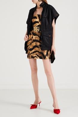 Платье без бретелей с металлизированной фактурой P.a.r.o.s.h. 393166128