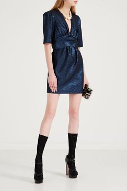 Темно-синее платье из мерцающей ткани P.a.r.o.s.h. 393166133