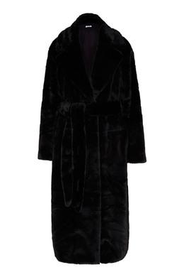 Черная шуба из искусственного меха P.a.r.o.s.h. 393166141
