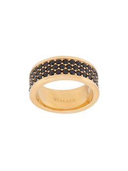 Nialaya Jewelry кольцо Trio-Row MRING012