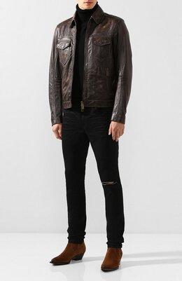 Кожаная куртка Dsquared2 S74AM0958/SX9560