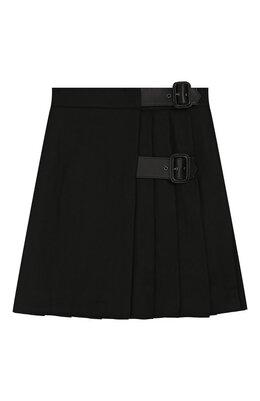 Шерстяная юбка Burberry 8012939