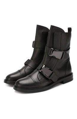 Кожаные ботинки Casadei 1R115N0201TANG09000