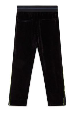 Черные бархатные брюки Iceberg 1214165983