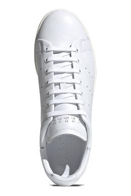 Белые кеды с перфорацией Adidas 819165957