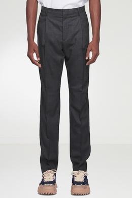 Темно-серые шерстяные брюки Acne Studios 876165549