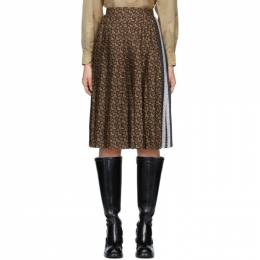 Burberry Brown Monogram Marine Skirt 201376F09201003GB