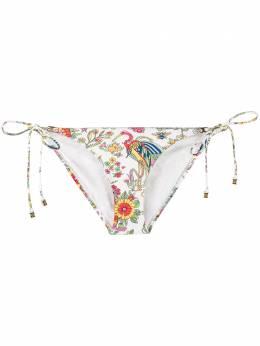 Tory Burch плавки бикини с цветочным принтом 56952962