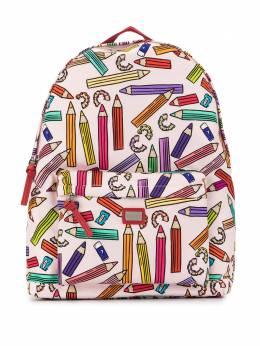 Dolce & Gabbana Kids рюкзак с принтом EB0160AU818