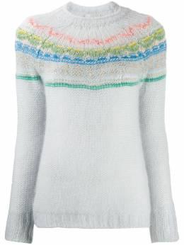 Forte_Forte свитер My Knit вязки интарсия 6843MYKNIT