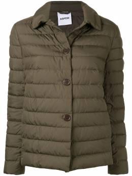 Aspesi куртка-пуховик на пуговицах 9N20G704