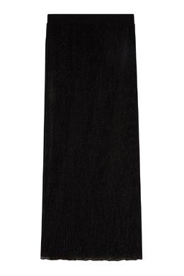 Черная юбка с люрексом Alberta Ferretti 1771146804