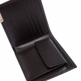 Tod's Brown Leather Bifold Wallet 245711