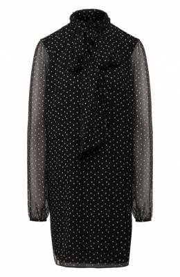 Шелковое платье Saint Laurent 577116/Y353V