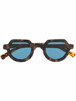 Brain Dead солнцезащитные очки в круглой оправе BDS19A08001025