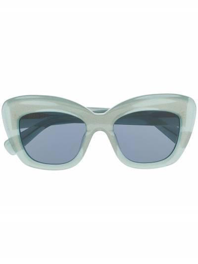 Brain Dead солнцезащитные очки в квадратной оправе BDS19A08001027 - 1