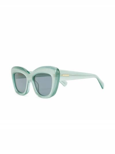 Brain Dead солнцезащитные очки в квадратной оправе BDS19A08001027 - 2