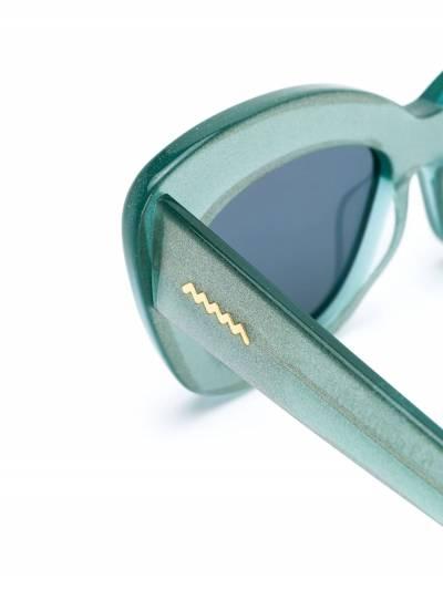Brain Dead солнцезащитные очки в квадратной оправе BDS19A08001027 - 3