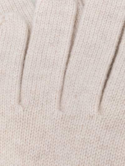 N.peal кашемировые перчатки в рубчик NPA001B - 2