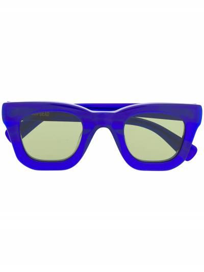 Brain Dead солнцезащитные очки в квадратной оправе BDS19A08001026 - 1