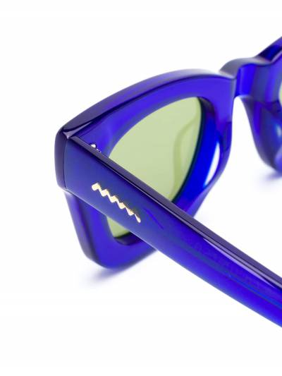 Brain Dead солнцезащитные очки в квадратной оправе BDS19A08001026 - 3