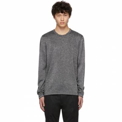 Hugo Silver Wool Sepo Sweater 201084M20108804GB - 1