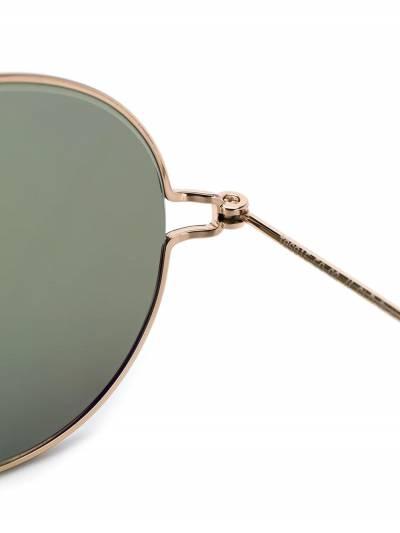 Thom Browne Eyewear солнцезащитные очки в круглой оправе TB915 - 3