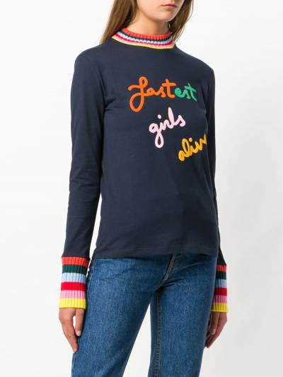 Mira Mikati свитер 'Fastest Girls Alive' TEE003B - 3