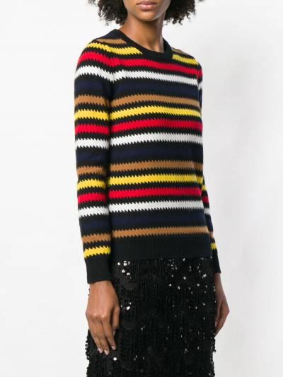 Sonia Rykiel свитер в полоску 11550903VD - 3
