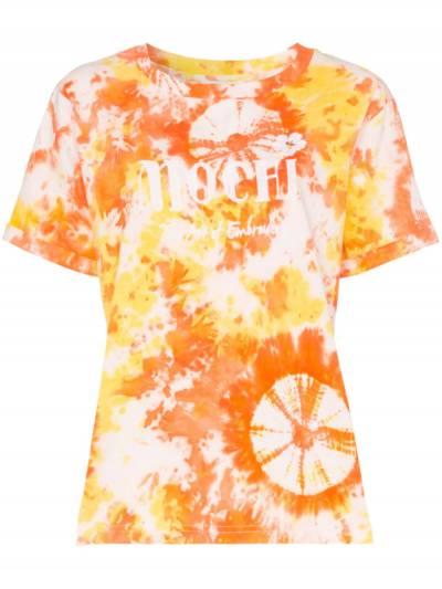 All Things Mochi футболка с вышитым логотипом и принтом тай-дай MOC0937 - 1
