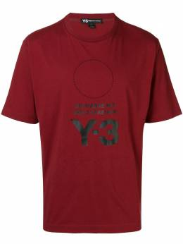 Y-3 logo patch T-shirt DP0476