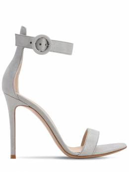 105mm Portofino Lamé Leather Sandals Gianvito Rossi 71IAI4021-U0lMVkVS0