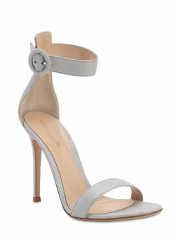 105mm Portofino Leather Sandals Gianvito Rossi 71IAI4021-U0lMVkVS0