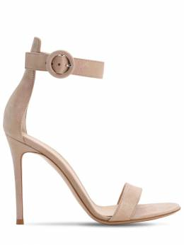 105mm Portofino Lamé Leather Sandals Gianvito Rossi 71IAI4021-Uk9TQQ2