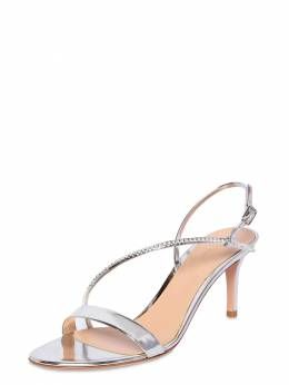 70mm Metallic Leather Sandals Gianvito Rossi 71IAI4008-U0lMVkVS0