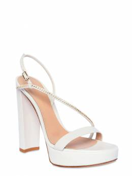 120mm Leather Platform Sandals Gianvito Rossi 71IAI4003-V0hJVEU1