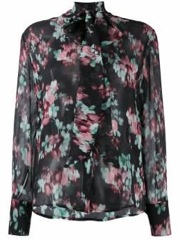 L'Autre Chose блузка с цветочным узором BJ520528001S990