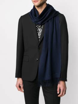 Alexander McQueen шарф с вышитым логотипом 5577124201Q