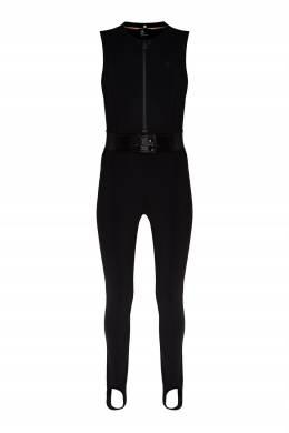 Черный лыжный комбинезон без рукавов Moncler 34166336
