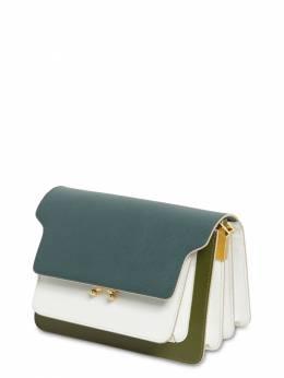 Medium Saffiano Color Block Trunk Bag Marni 71IVW4003-WjI3M0k1