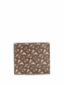 Burberry складной бумажник с монограммой 8022891