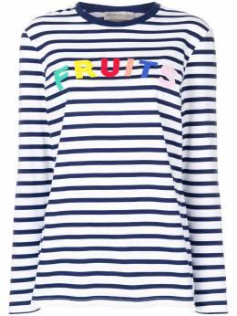 Etre Cecile футболка в полоску с длинными рукавами FRUITSLSTMARINEBRETON