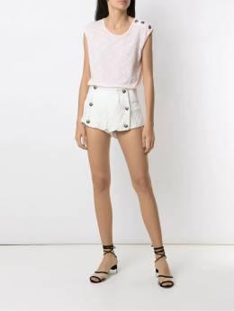 Andrea Bogosian кружевные шорты на пуговицах 003617