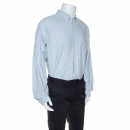 Ralph Lauren Bicolor Striped Cotton Classic Fit Oxford Shirt XXL 245930