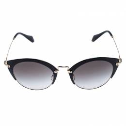 Miu Miu Black Gradient SMU 53R Bowline Sunglasses 246518
